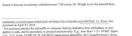 پرونده قضایی کریگ رایت/کلیمن و ارتباط آن با پاول لرو